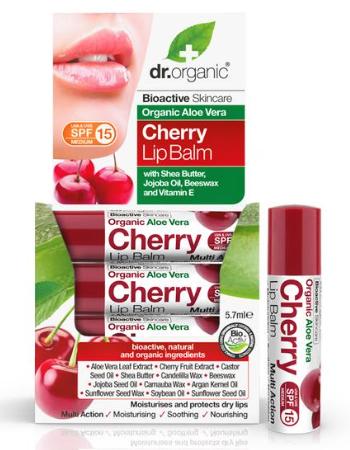 DR ORGANIC CHERRY LIP BALM 5.7ML