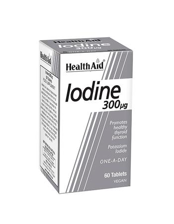 HEALTH AID IODINE 300UG 60 TABLETS