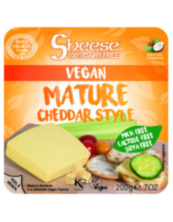 SHEESE MATURE CHEDDAR 200G