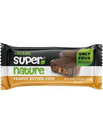 SUPER NATURE CHOCOLATE PEANUTBUTTER CUP 40G