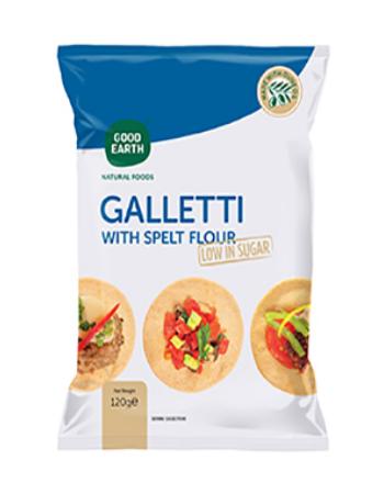 GOOD EARTH SPELT GALLETTI 120G