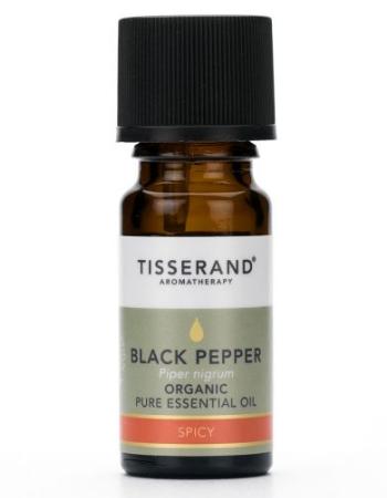 TISSERAND BLACK PEPPER ESSENTIAL OIL 9ML