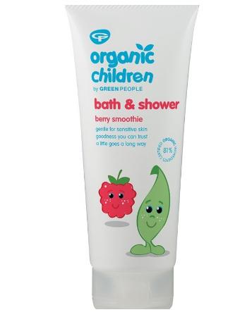 ORGANIC CHILDREN BATH & SHOWER BERRY 200ML
