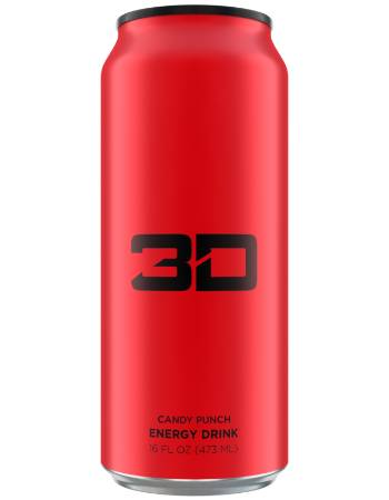 3D ENERGY DRINK CANDY PUNCH 473ML